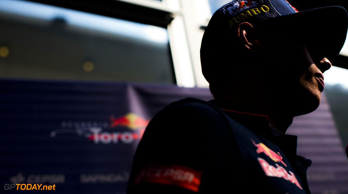 511531615PF009_F1_Grand_Pri AUSTIN, TX - OCTOBER 30:  Max Verstappen of Toro Rosso and The Netherlands during previews ahead of the United States Formula One Grand Prix at Circuit of The Americas on October 30, 2014 in Austin, United States.  (Photo by Peter Fox/Getty Images,) *** Local Caption *** Max Verstappen F1 Grand Prix of USA - Previews Peter Fox Austin United States  forumla one racing