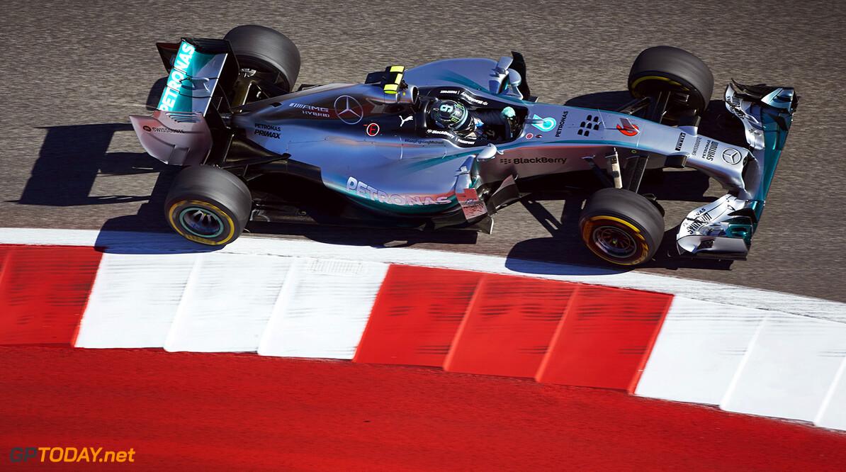 Rosberg start Grand Prix van Amerika vanaf pole position