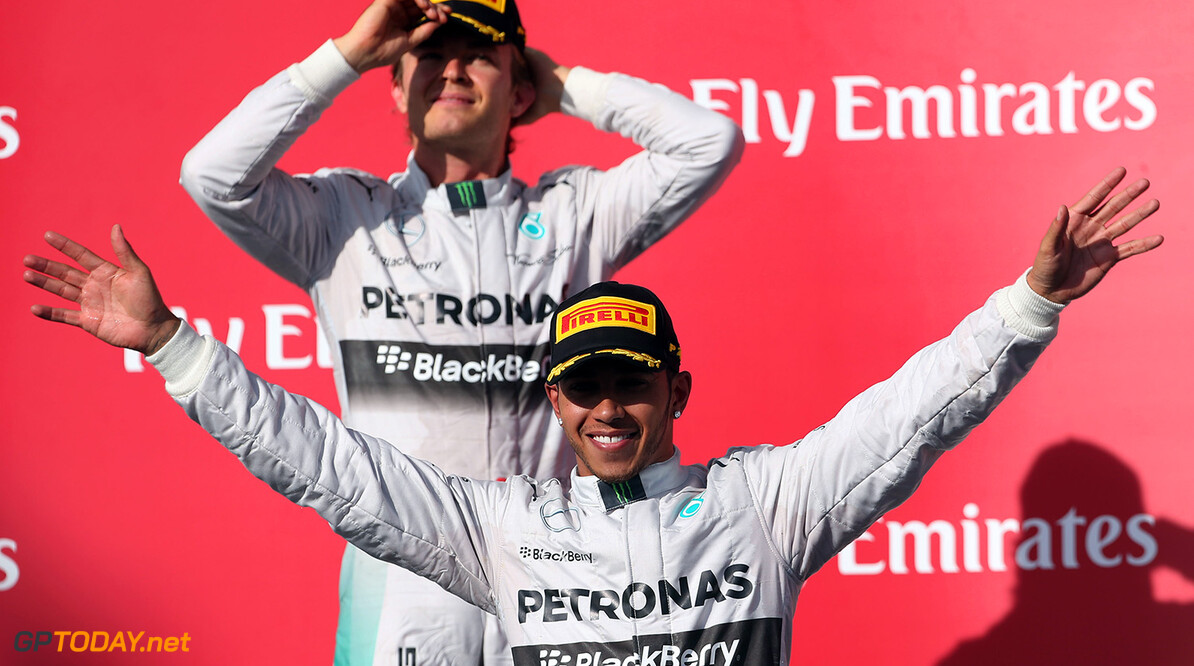 Rosberg 'not thinking about' about fading title hopes