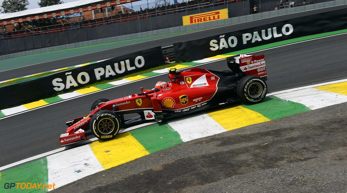 Raikkonen opgetogen na bemoedigende race in Brazilië