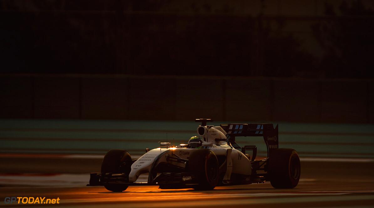 Yas Marina Circuit, Abu Dhabi, United Arab Emirates. Friday 21 November 2014. Felipe Massa, Williams FW36 Mercedes. Photo: Glenn Dunbar/Williams F1. ref: Digital Image _89P4668      f1 formula 1 formula one gp Action