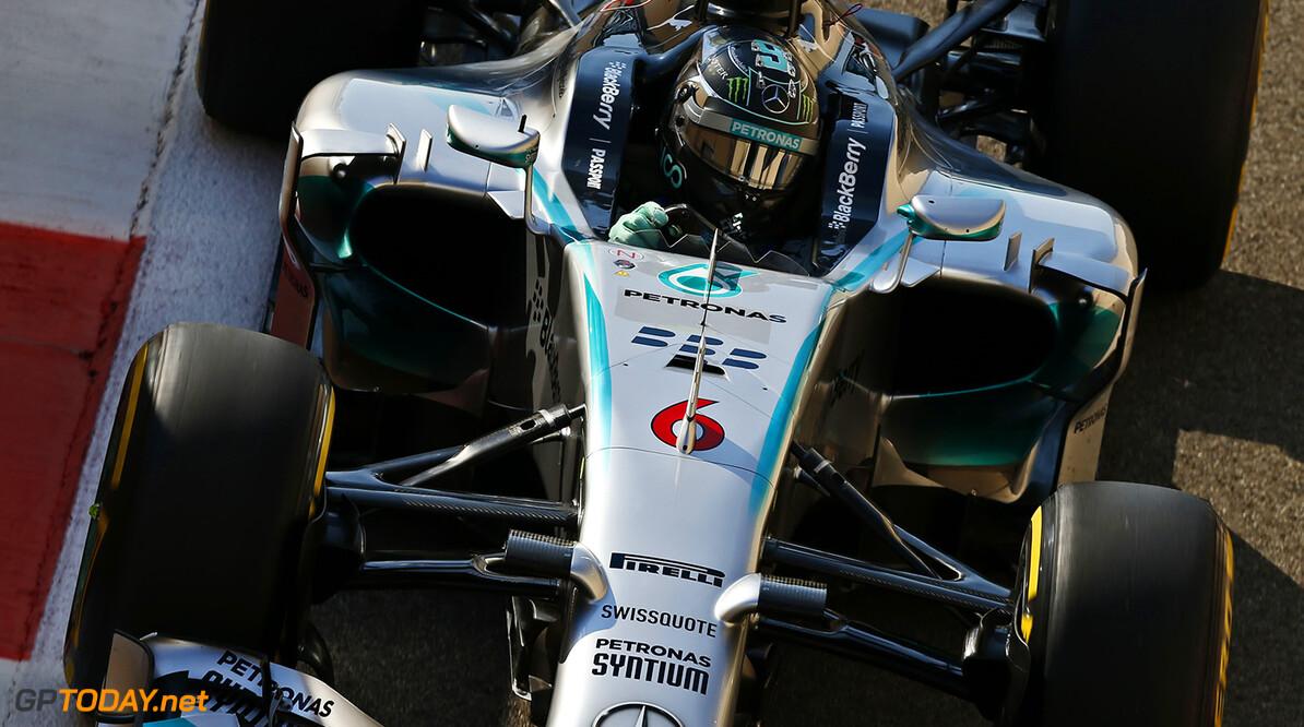 VT3: Rosberg bovenaan na derde vrije training