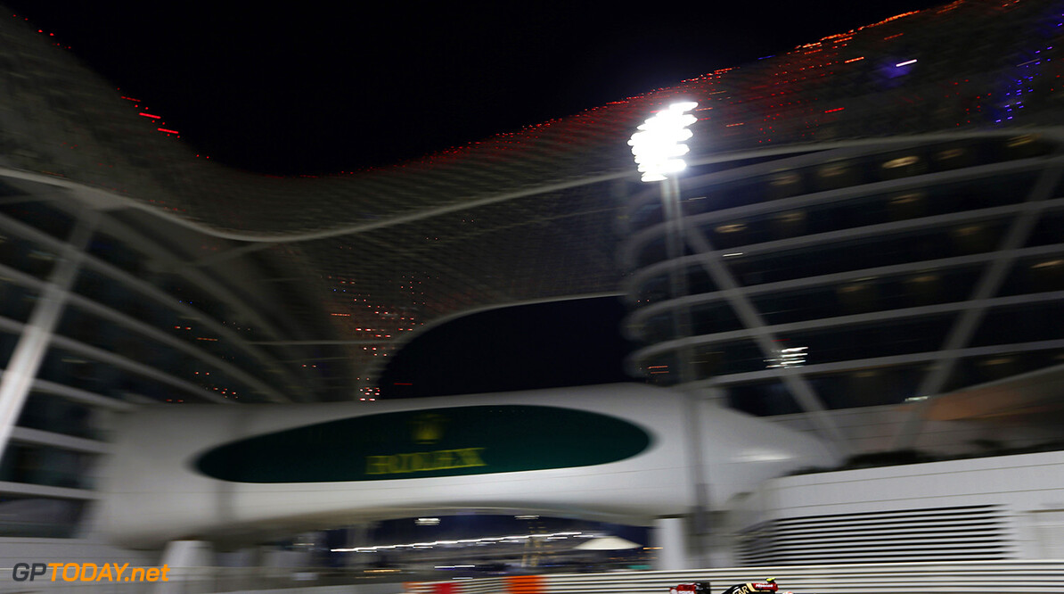 _33R0527.jpg Yas Marina Circuit, Abu Dhabi, United Arab Emirates. Friday 21 November 2014. Pastor Maldonado, Lotus E22 Renault. Photo: Alastair Staley/Lotus F1 Team. ref: Digital Image _33R0527 -------------------- Alastair Staley / Lotus F1 2014 FIA Formula One World Championship Abu Dhabi Grand Prix 21 November 2014 Yas Marina Circuit, Abu Dhabi, United Arab Emirates. Friday 21 November 2014. Pastor Maldonado, Lotus E22 Renault. Photo: Alastair Staley/Lotus F1 Team. ref: Digital Image _33R0527 Alastair Staley    f1 formula 1 formula one gp action