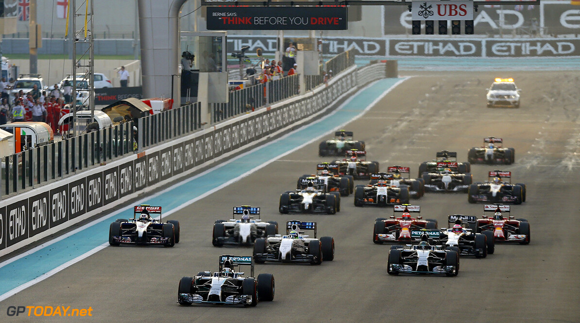 F1 votes against double points and standing restarts