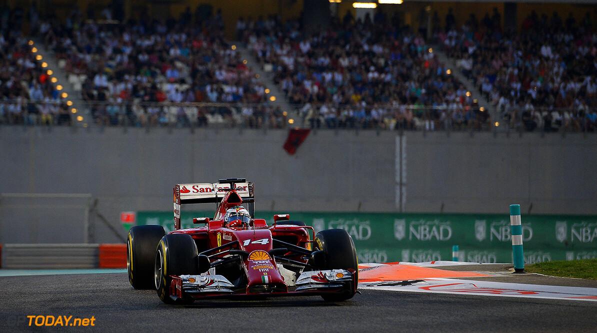 Alonso emotioneel bij laatste Grand Prix voor Ferrari