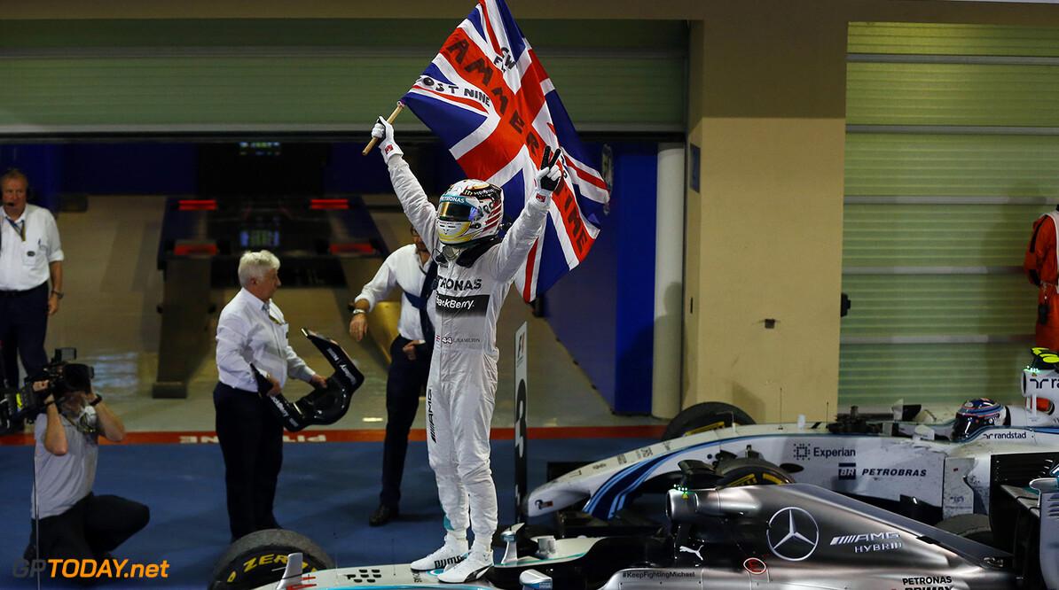 De dag dat Hamilton zijn tweede titel veroverde