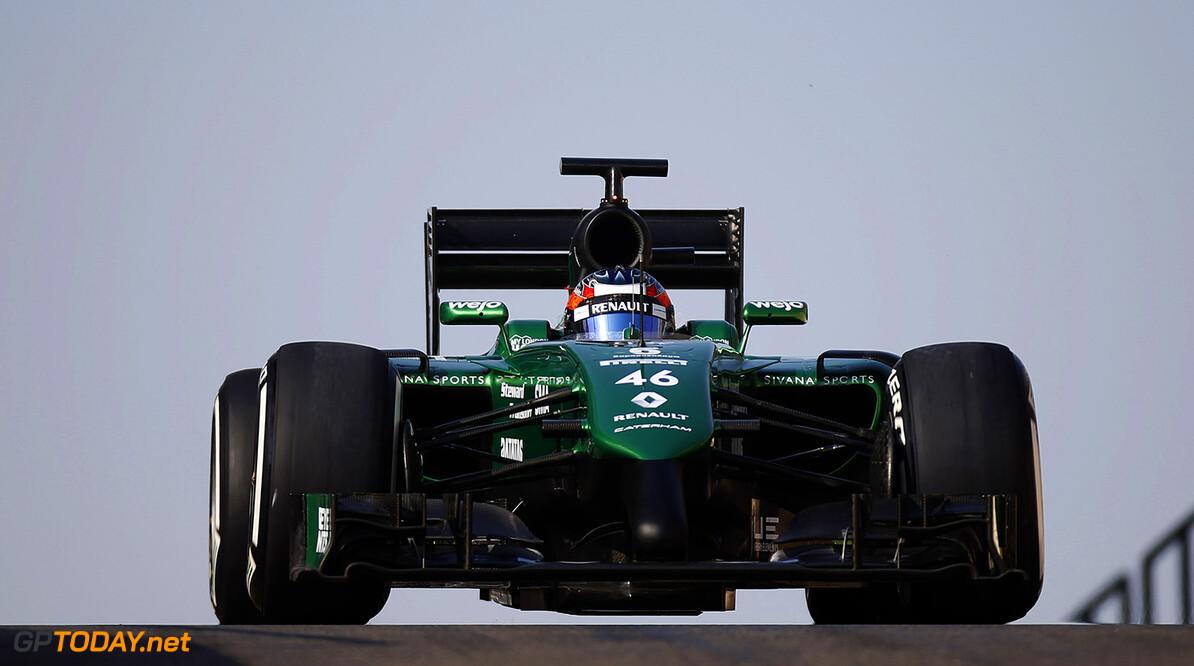 Yas Marina Circuit, Abu Dhabi, United Arab Emirates. Tuesday 25 November 2014. World Copyright: /LAT Photographic. ref: Digital Image _89P9243      formula 1 formula one f1 uae test testing