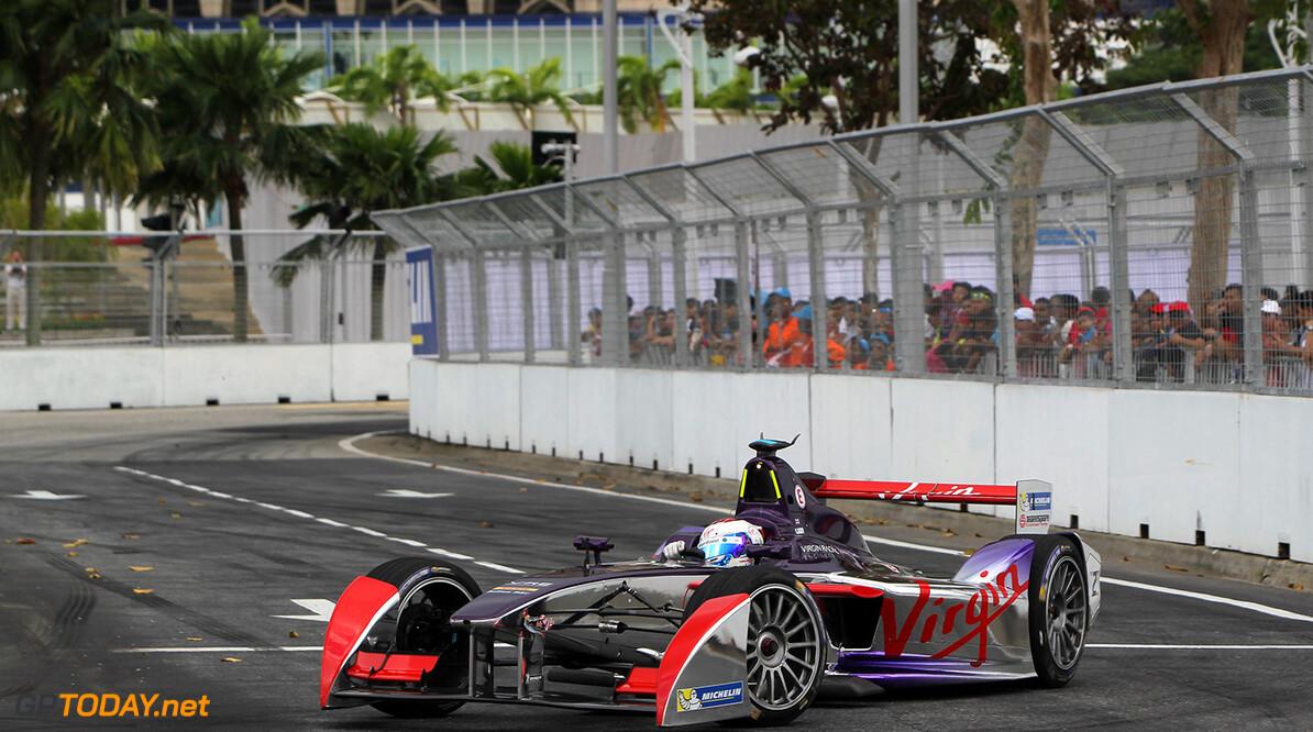 Putrajaya E-Prix, Race. Putrajaya E-Prix, Malaysia - 20th-22nd November 2014. Saturday 22 November 2014.  Photo: Michael Hoyer - Jakob Ebrey/LAT/ Formula E ref: Digital Image EL0G1550  Adam Warner