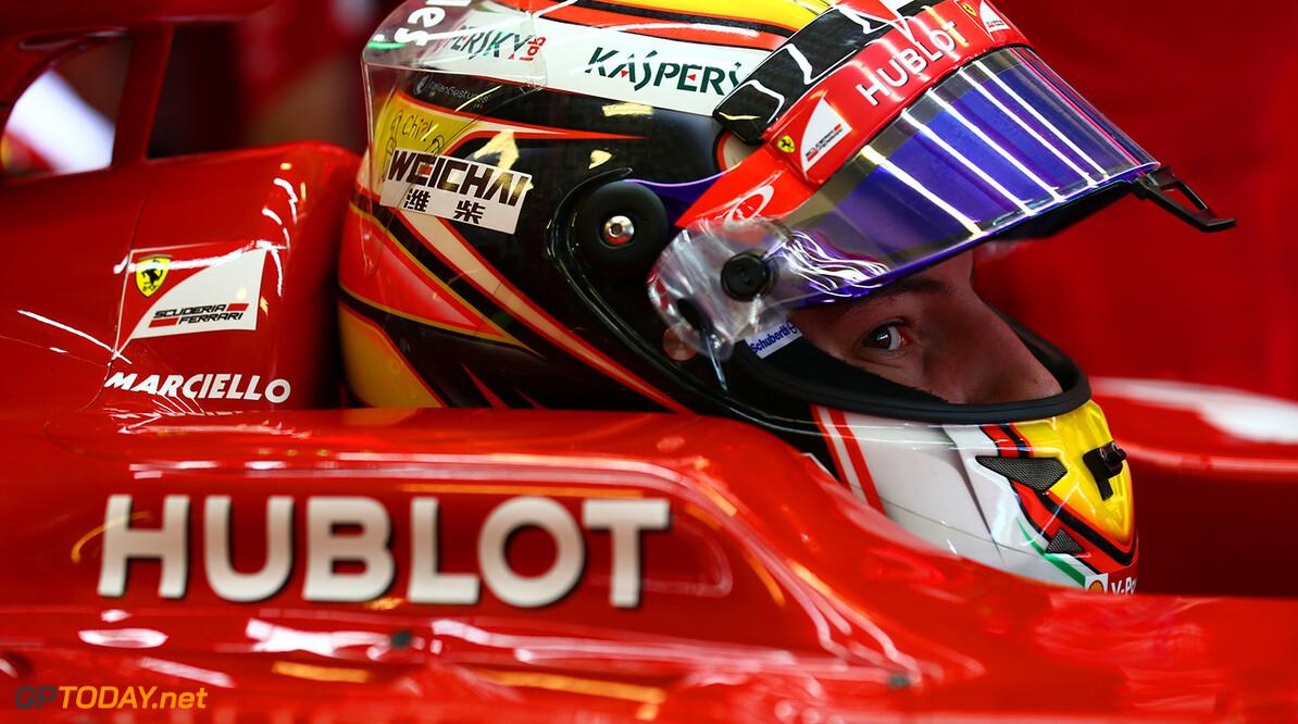 Marciello in gedachten bij Bianchi tijdens testdebuut