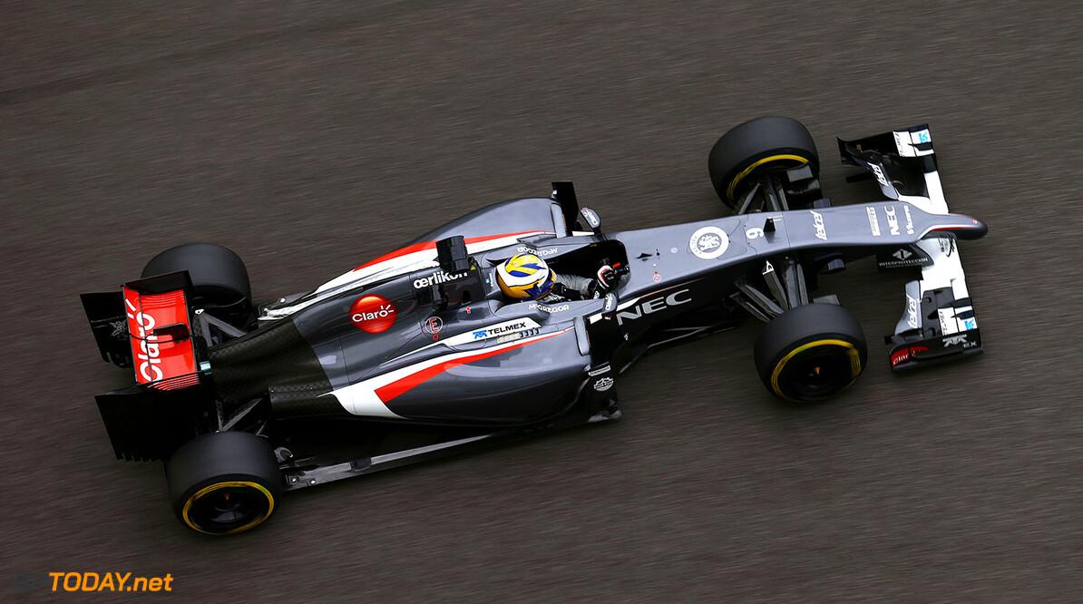 Abu Dhabi F1 Test 25-26/11/14 Marcus Ericsson (SWE), Sauber F1 Team. Yas Marina Circuit.  Abu Dhabi F1 Test 25-26/11/14 Frits van Eldik Abu Dhabi United Arab Emirates  F1 Formula One 2014 Action Ericsson Sauber
