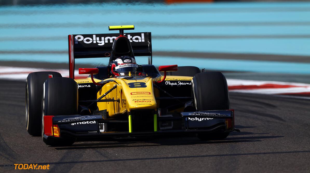 2014 GP2 Series. Round 11.  Yas Marina Circuit, Abu Dhabi, United Arab Emirates. Friday 21 November 2014. Stephane Richelmi (MON, DAMS)  Photo: Sam Bloxham/GP2 Series Media Service. ref: Digital Image _SBL3693   Sam Bloxham    Practice