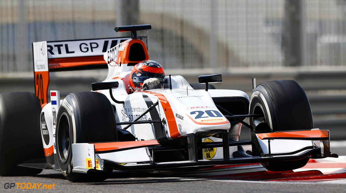 2014 GP2 Series. Round 11.  Yas Marina Circuit, Abu Dhabi, United Arab Emirates. Friday 21 November 2014. Daniel de Jong (NED, MP Motorsport)  Photo: Sam Bloxham/GP2 Series Media Service. ref: Digital Image _SBL3295   Sam Bloxham    Practice