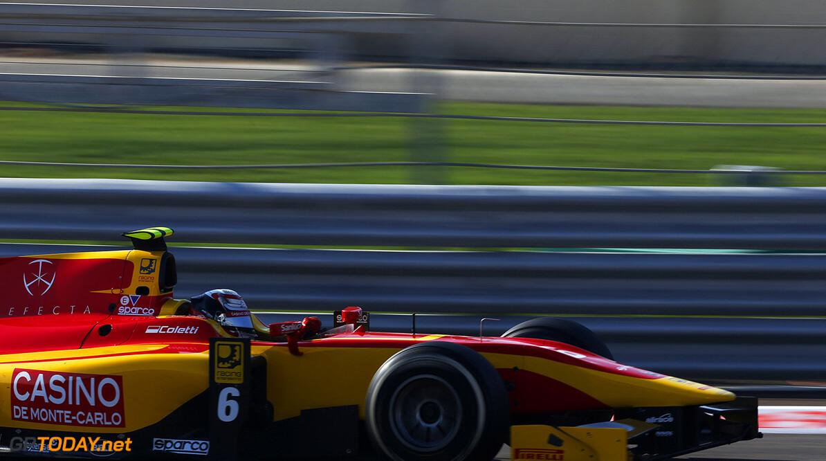 2014 GP2 Series. Round 11.   Yas Marina Circuit, Abu Dhabi, United Arab Emirates. Sunday 23 November 2014.Stefano Coletti (MON, Racing Engineering). Photo: Zak Mauger/GP2 Series Media Service. ref: Digital Image _L0U8236   Zak Mauger    Race Two 2 Sprint