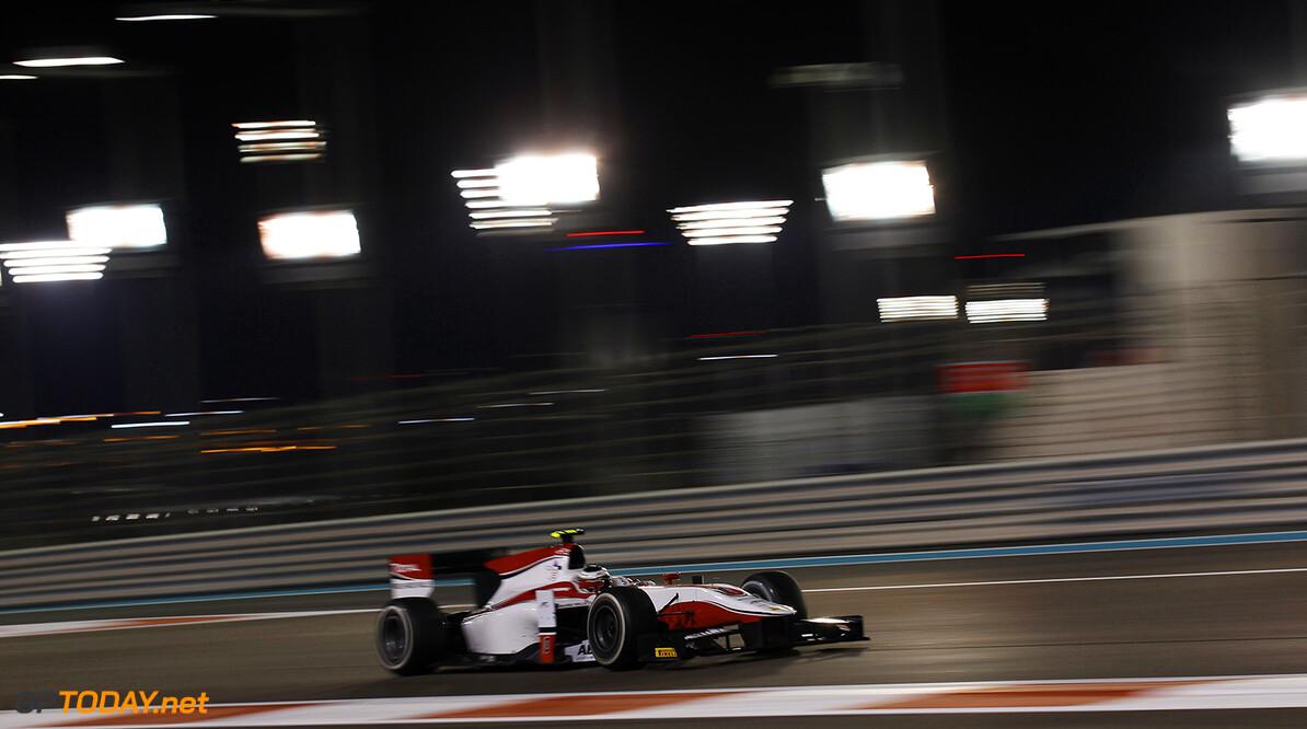 2014 GP2 Series. Round 11.   Yas Marina Circuit, Abu Dhabi, United Arab Emirates. Saturday 22 November 2014. Stoffel Vandoorne (BEL, ART Grand Prix)  Photo: Sam Bloxham/GP2 Series Media Service. ref: Digital Image _G7C1279   Sam Bloxham    Race One 1 Feature
