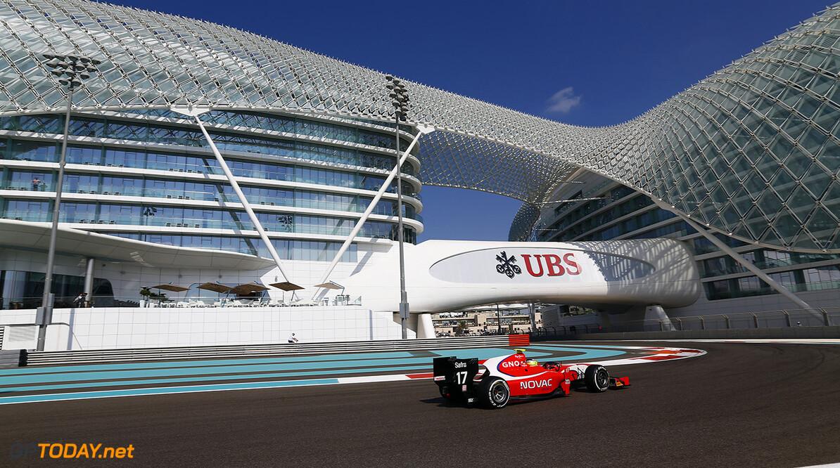 2014 GP2 Series. Round 11.  Yas Marina Circuit, Abu Dhabi, United Arab Emirates. Friday 21 November 2014. Andre Negrao (BRA, Arden International)  Photo: Sam Bloxham/GP2 Series Media Service. ref: Digital Image _SBL3175   Sam Bloxham    Practice