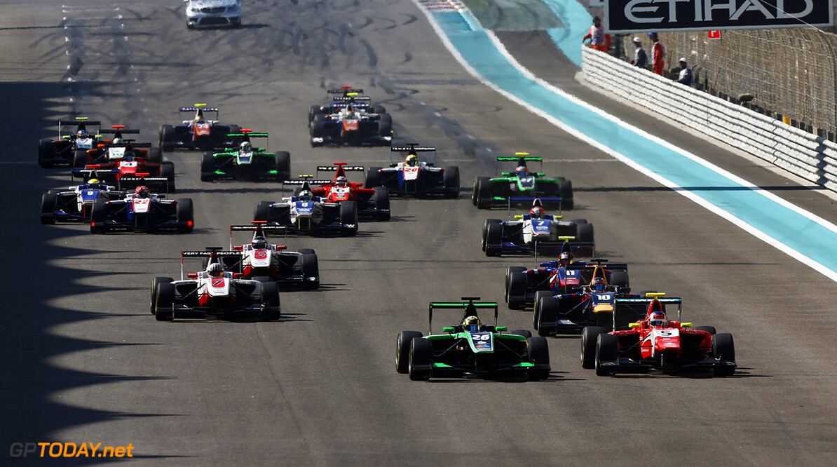 2014 GP3 Series. Round 9.  