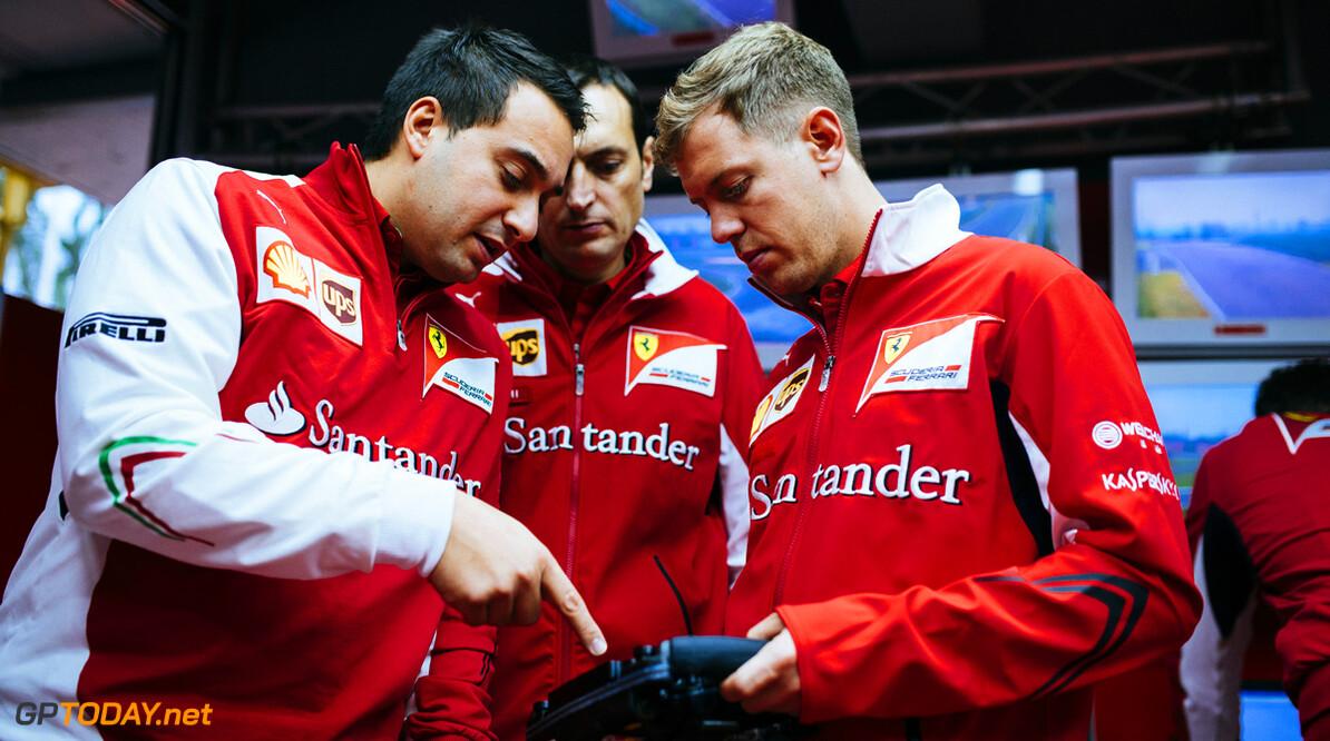 Vettel enjoys fairytale-like first days at Ferrari