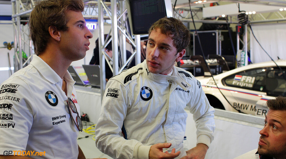 Jerez de la Frontera (ES) 02th December 2014. BMW Motorsport, ITR Testing, Antonio Felix da Costa (PT) BMW Works Driver and Robin Frijns (NL). This image is copyright free for editorial use (C) BMW AG (12/2014).