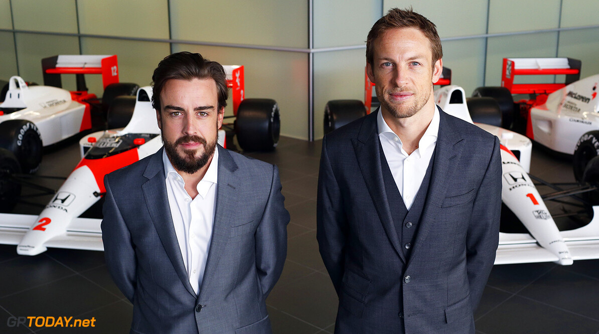 Alonso hopes Button keeps McLaren seat for 2016