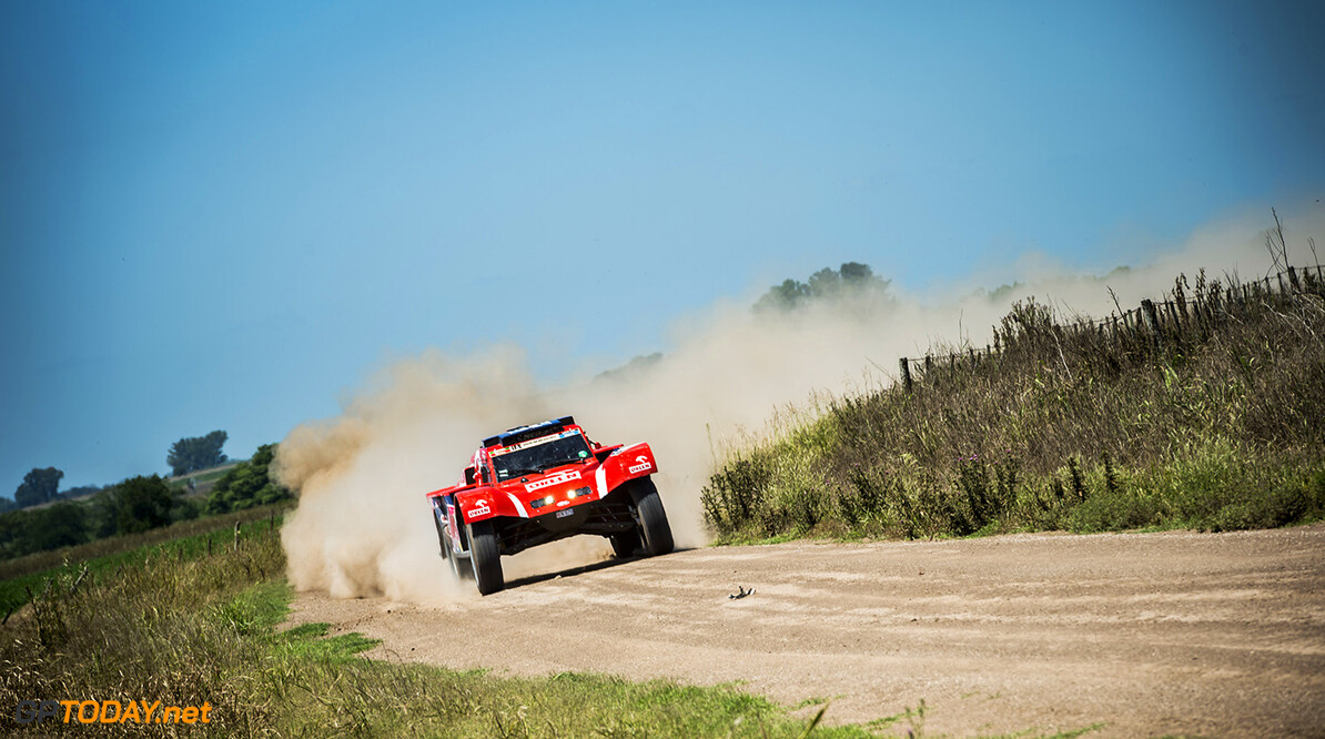 Adam Malysz races during the 1st stage of Rally Dakar 2015 from Buenos Aires to Villa Carlos Paz, Argentina on January 4th, 2015 // Marcelo Maragni/Red Bull Content Pool // P-20150104-00118 // Usage for editorial use only // Please go to www.redbullcontentpool.com for further information. //  Adam Malysz - Action     P-20150104-00118