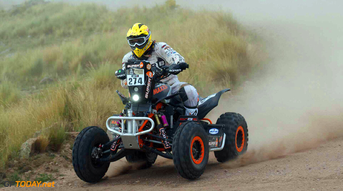 Copyright 2015 Dakar Press team  Roeland Heuff    274 Kees Koolen (NLD) HONDA MAXXIS DAKER TEAM POWERED BY SUPER B Dakar 2015 Stage 02 Villa Carlos Paz - San Juan 5-jan-2015