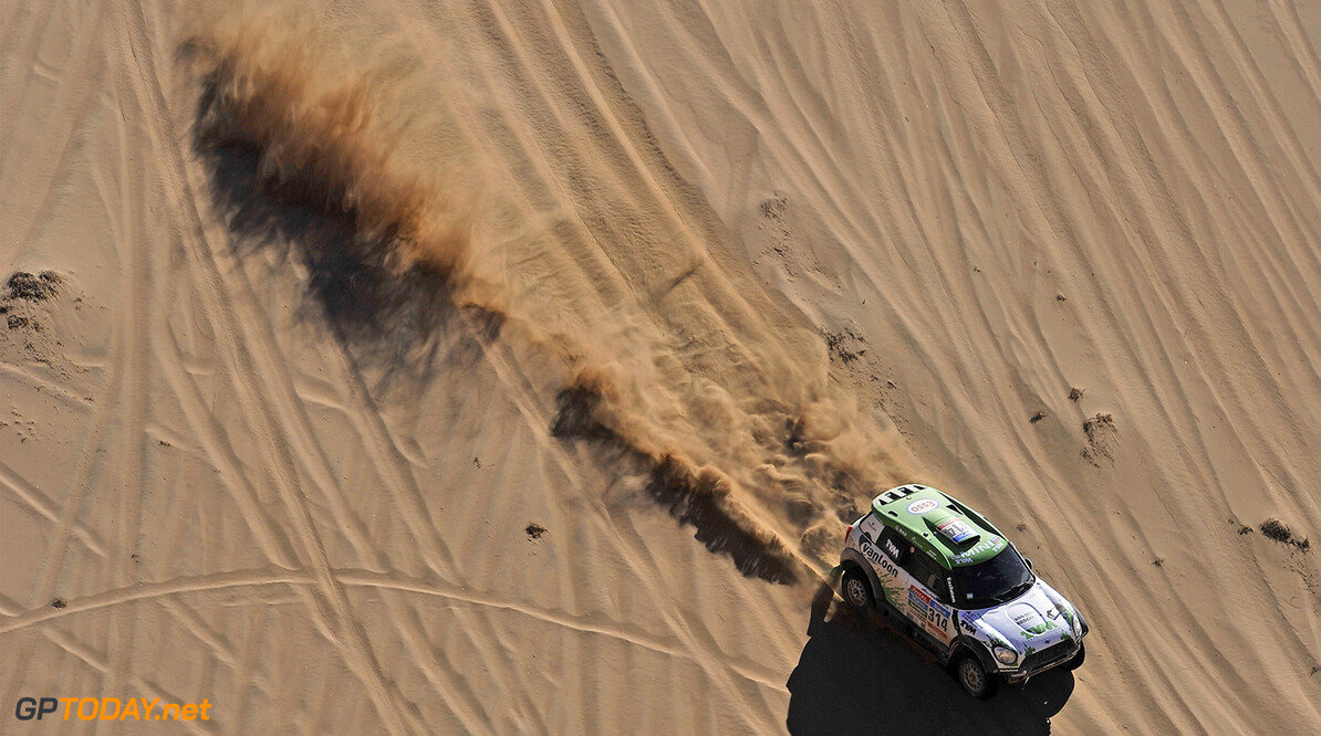 314 VAN LOON Erik (Nld) ROSEGAAR wouter (Nld) Mini action during the Dakar 2015 Argentina Bolivia Chile, Stage 4 / Etape 4 -  Chilecito to Copiapo on January 7th 2015 at Chilecito, Argentina. Photo DPPI AUTO - DAKAR 2015 PART 1 DPPI Chilecito Argentina  auto rally rallye rallyraid rallyes raid rallye raid amerique du sud 2015 janvier january moto camion trucks bikes quad argentine bolivie chili dakar course