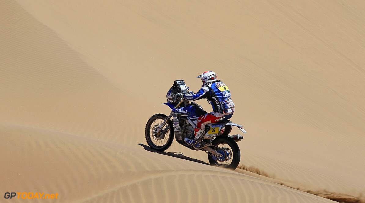 03 PAIN Olivier(Fra) Yamaha action during the Dakar 2015 Argentina Bolivia Chile, Stage 4 / Etape 4 -  Chilecito to Copiapo on January 7th 2015 at Chilecito, Argentina. Photo Francois Flamand / DPPI AUTO - DAKAR 2015 PART 1 Francois Flamand Chilecito Argentina  auto rally rallye rallyraid rallyes raid rallye raid amerique du sud 2015 janvier january moto camion trucks bikes quad argentine bolivie chili dakar course