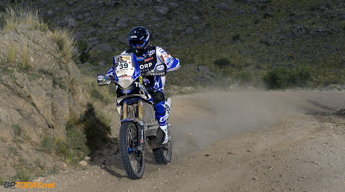 39 VAN PELT Robert (Nld) Yamaha action during the Dakar 2015 Argentina Bolivia Chile, Stage 2 / Etape 2 -  Villa Carlos Paz to San Juan on January 5th 2015 at Villa Carlos Paz, Argentina. Photo Eric Vargiolu / DPPI AUTO - DAKAR 2015 PART 1 Eric Vargiolu Villa Carlos Paz Argentina  auto rally rallye rallyraid rallyes raid rallye raid amerique du sud 2015 janvier january moto camion trucks bikes quad argentine bolivie chili dakar course