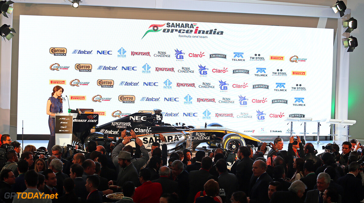Sahara Force India F1 Team Livery Reveal The Sahara Force India F1 Team 2015 livery is revealed.