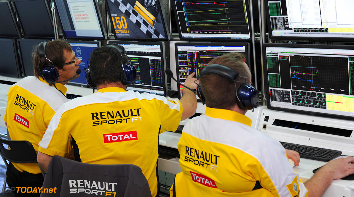 TEAM WILLIAMS RENAULT AT CIRCUITO MONTE BIANCO ON JANUARY 30 & 31 2013.