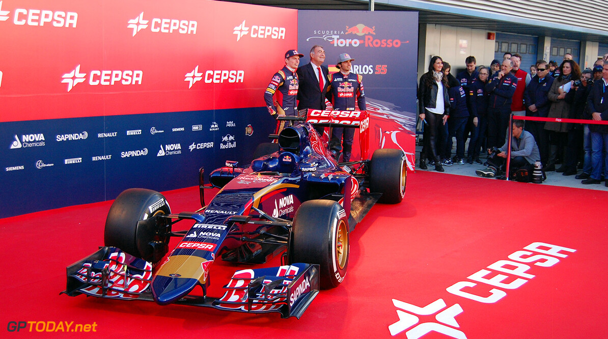 Scuderia Toro Rosso presenteert auto voor 2015