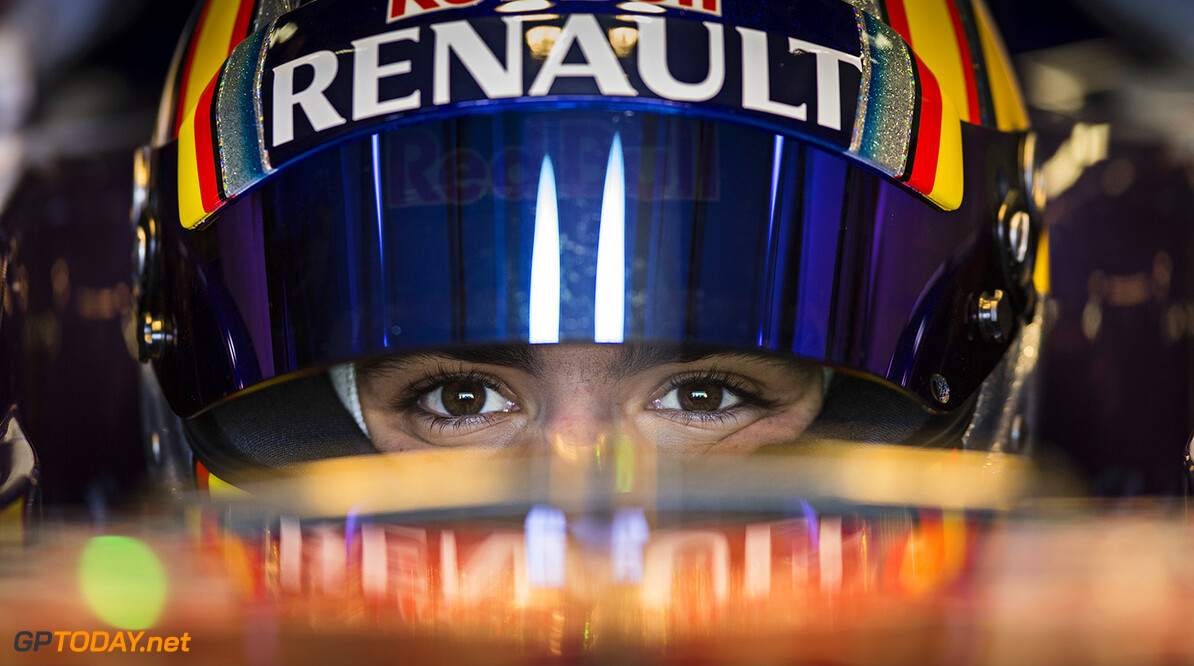 Carlos Sainz of Spain and Scuderia Toro Rosso prepares for a drive with the STR10 in Misano, Italy on January 28th, 2015 // Samo Vidic/Red Bull Content Pool // P-20150131-00028 // Usage for editorial use only // Please go to www.redbullcontentpool.com for further information. //  Carlos Sainz - Lifestyle  Misano Adriatico Italy  P-20150131-00028