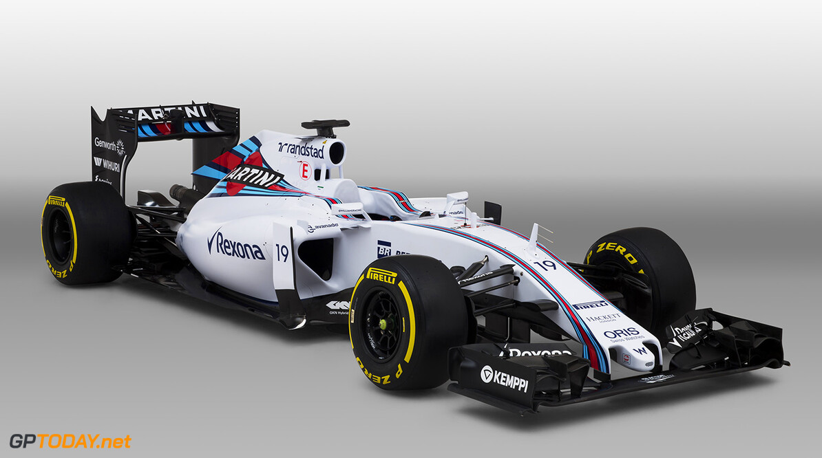 Williams FW37 Mercedes Studio Images. January 2015. Photo: Williams F1 Team ref: Digital Image _L5R8262