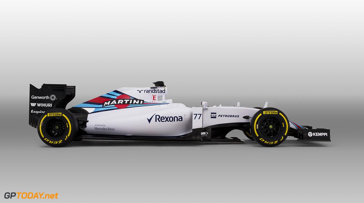 Williams FW37 Mercedes Studio Images. January 2015. Photo: Williams F1 Team ref: Digital Image _L5R8171 Bottas