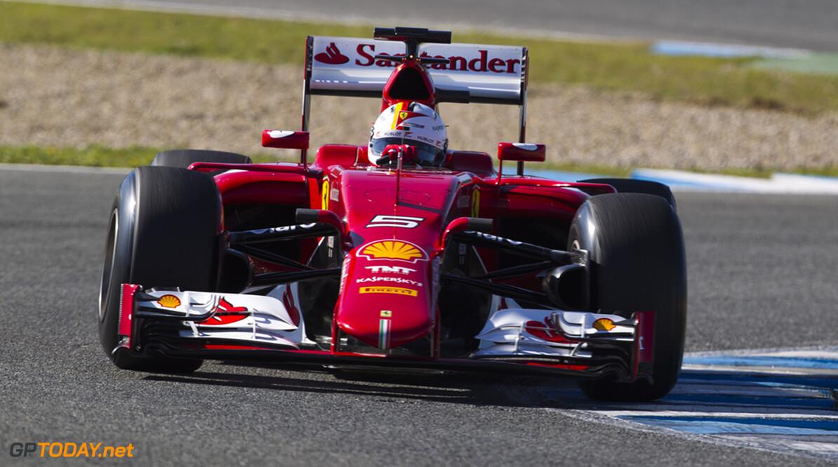 Jerez dag 1: Vettel zet Ferrari gelijk bovenaan