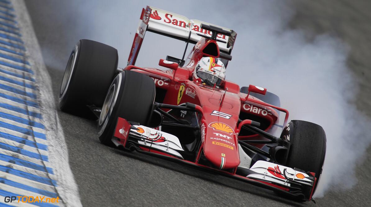 Jerez dag 2: Ferrari en Sauber weer één en twee