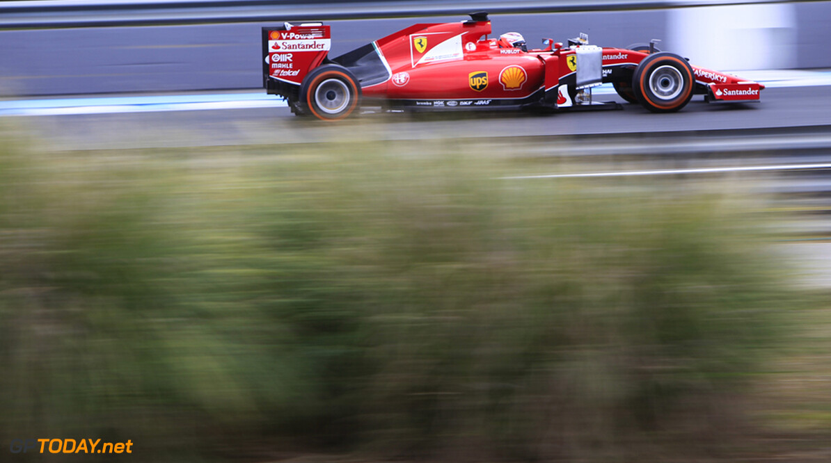 Testupdate: Raikkonen houdt Ferrari aan kop