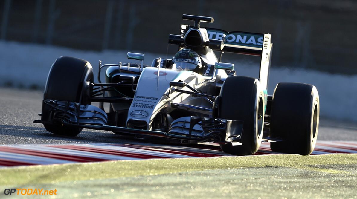 Rosberg pakt pole position in Spanje, Verstappen zesde