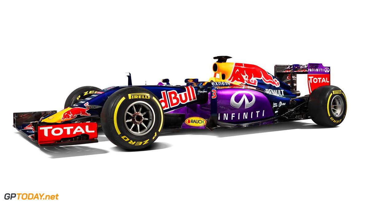 Red Bull Racing presenteert livery voor 2015