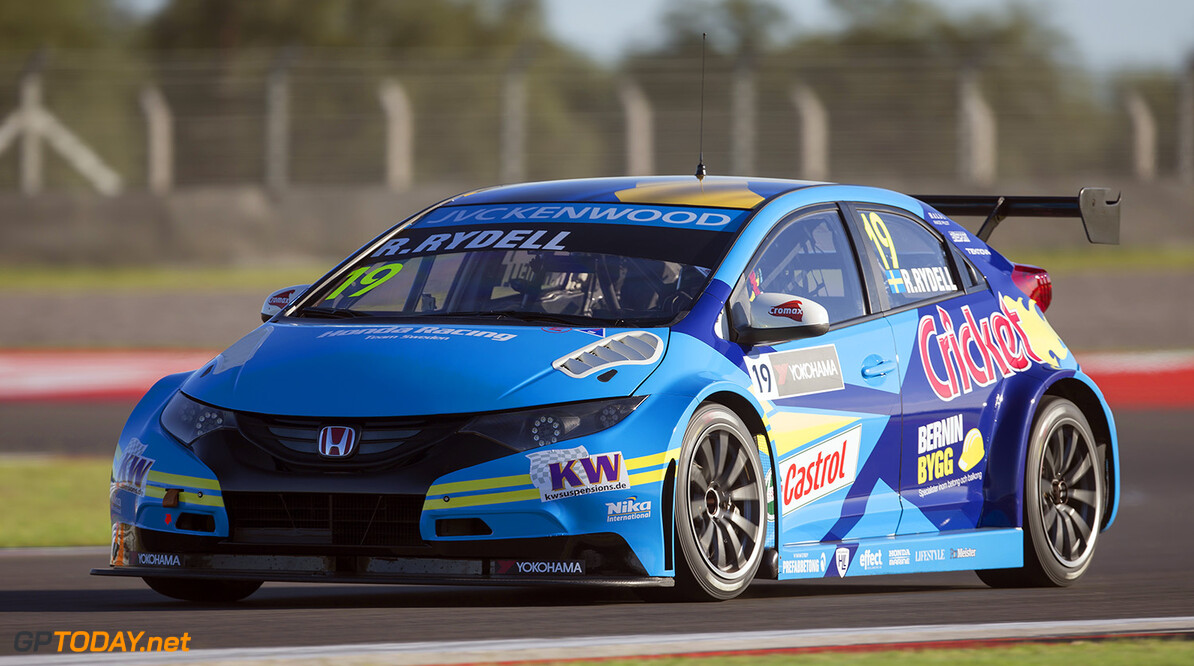 19 RYDELL Rickard (swe) Honda Civic team Nika International action during the 2015 FIA WTCC World Touring Car Race of Argentina at Termas de Rio Hondo, Argentina on March 6th to 8th 2015. Photo Jean Michel Le Meur / DPPI. AUTO - WTCC ARGENTINA 2015 Jean Michel Le Meur  Termas de Rio Hondo Argentina  Auto CHAMPIONNAT DU MONDE CIRCUIT COURSE FIA Motorsport TOURISME WTCC argentine argentina south america amerique du sud