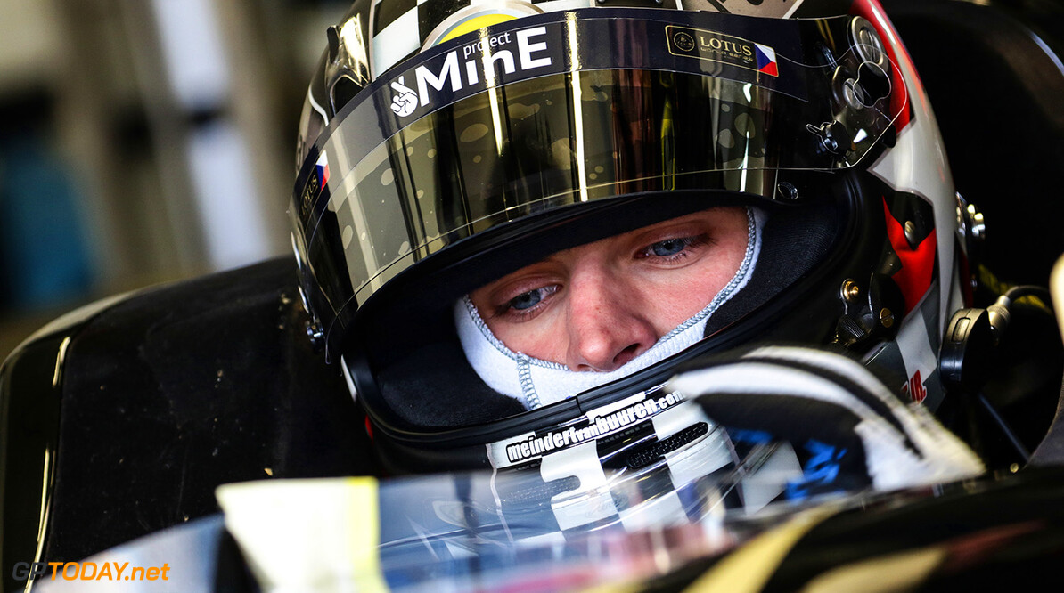 MOTORSPORTS-JEREZ-WORLD SERIES RENAULT JEREZ (ESP) MAR 4-6 2015 - First collective test World Series by Renault 2015 at Cicuito permanente de Jerez. Meindert van Buuren #10 Lotus. Portrait. (C) 2015 Sebastiaan Rozendaal / Dutch Photo Agency / LAT Photographic  Sebastiaan Rozendaal Jerez Spain  2015 Auto ESP Jerez Renault Spain Test Track World series autodromo autosport car circuit formula michelin motorsports race racing