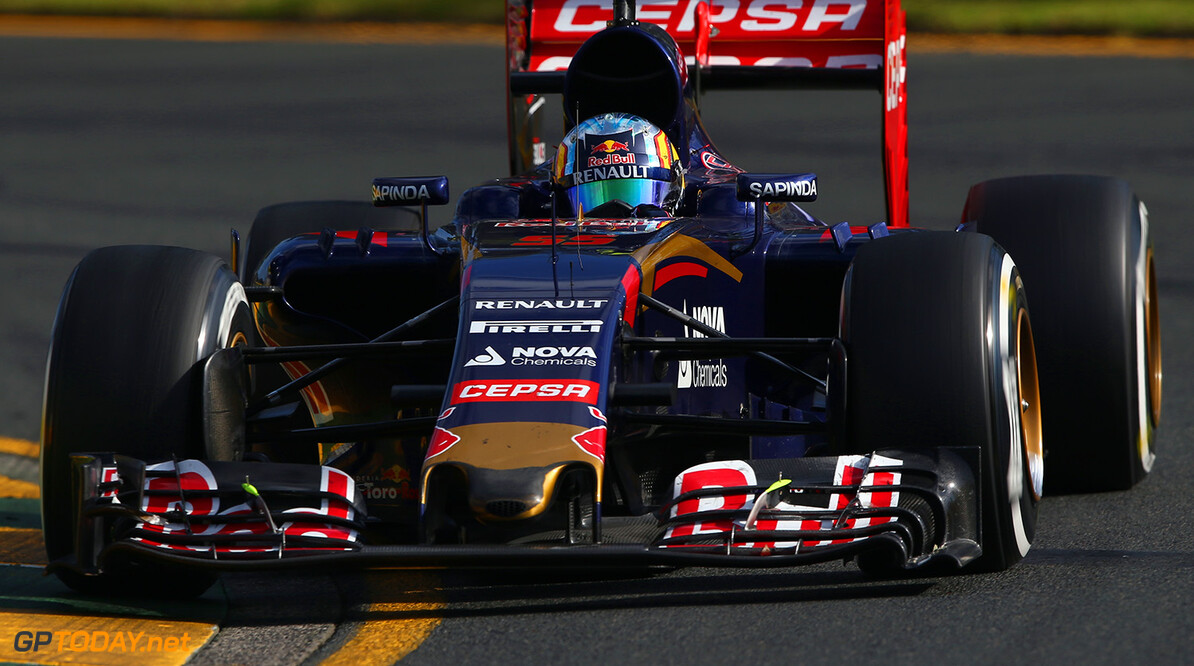 MELBOURNE, AUSTRALIA - MARCH 15:  Carlos Sainz of Spain and Scuderia Toro Rosso drives during the Australian Formula One Grand Prix at Albert Park on March 15, 2015 in Melbourne, Australia.  (Photo by Robert Cianflone/Getty Images) *** Local Caption *** Carlos Sainz Australian F1 Grand Prix Robert Cianflone Melbourne Australia  Formula One Racing formula 1 Auto Racing Formula 1 Australian Grand Prix Australian Formula One Grand Prix Formula One Grand Prix Australia F1 Grand Prix