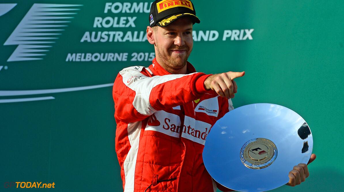 'Ferrari krijgt podiumplek op presenteerblaadje'