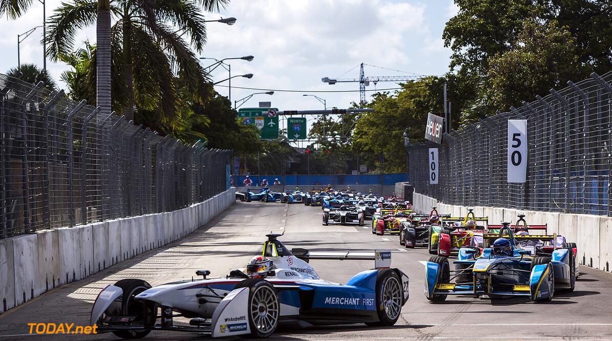 2014/2015 FIA Formula E Championship. Miami ePrix, Miami, Florida, United States of America. Saturday 14 March 2015  Photo: Zak Mauger/LAT/Formula E ref: Digital Image _L0U4639   Zak Mauger    fe formula e usa