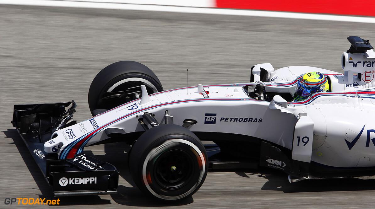 Sepang International Circuit, Sepang, Kuala Lumpur, Malaysia. Friday 27 March 2015. Felipe Massa, Williams FW37 Mercedes. World Copyright: Charles Coates/Williams  ref: Digital Image _N7T4655