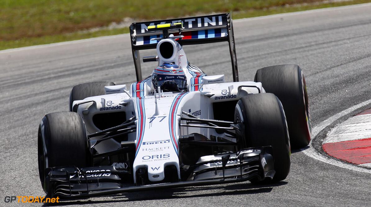 Sepang International Circuit, Sepang, Kuala Lumpur, Malaysia. Friday 27 March 2015. Valtteri Bottas, Williams FW37 Mercedes. World Copyright: Alastair Staley/Williams  ref: Digital Image _79P3439
