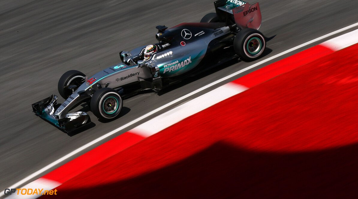"""Hamilton: """"Het wordt een zware race morgen"""""""