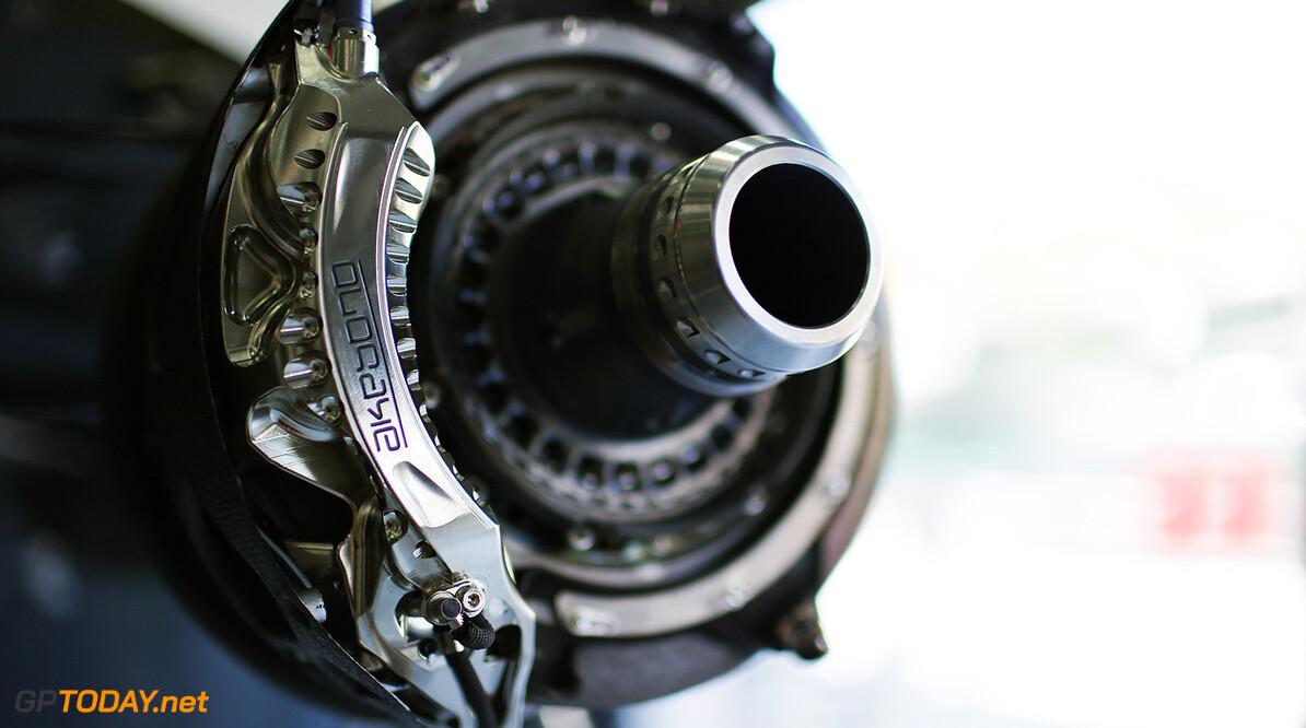 Brake detail.