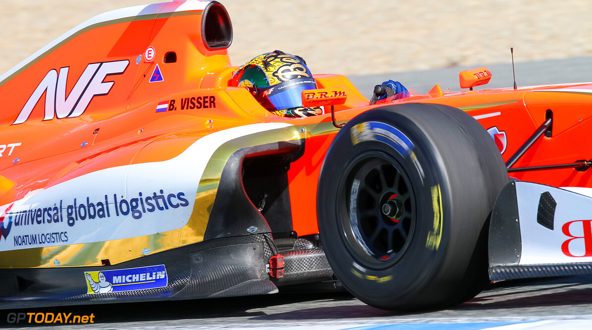 16 VISSER Beitske (NED) Formula Renault 3.5 action during 2015 Formula Renault 3.5 Series tests at Jerez de la Frontera, Spain from March 5th to 7th 2015. Photo Alvaro Rivero / DPPI AUTO - FR 3.5 TESTS AT JEREZ 2015 Alvaro Rivero Jerez Spain  tests essais formula monoplace circuits mars march espagne spain europe track FR 3.5