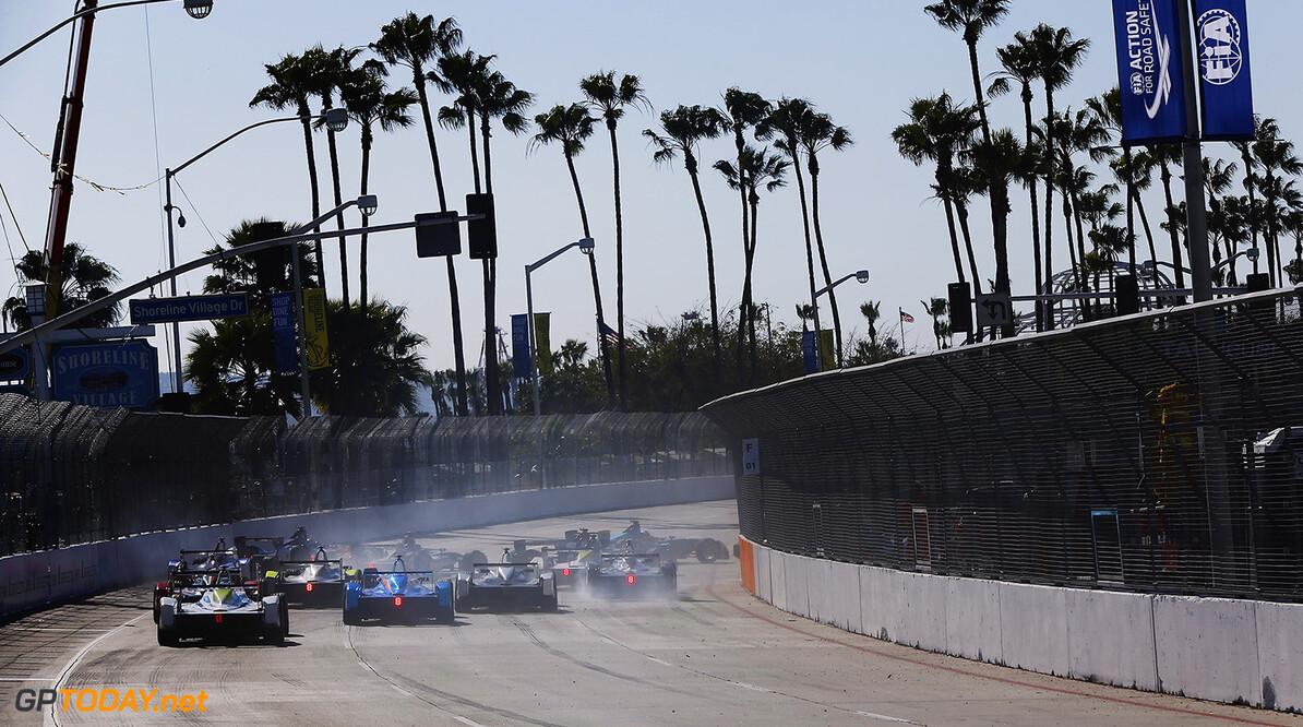 2014/2015 FIA Formula E Championship. Long Beach ePrix, Long Beach, California, United States of America. Saturday 4 April 2015  Photo: Zak Mauger/LAT/Formula E ref: Digital Image _L0U7982   Zak Mauger    fe formula e usa